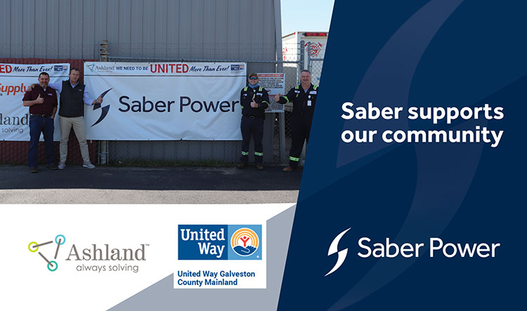 saber supports our community